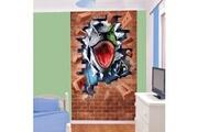 Walltastic Papier peint trompe l'oeil dinosaure walltastic 152x244 cm