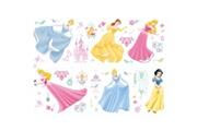 DECOFUN 41 stickers muraux bijoux princesse disney