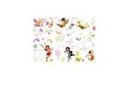 DECOFUN 45 stickers fée clochette repositionnable disney fairies