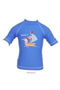 PIWAPEE Top Bleu Marine Lapin Anti UV 50+ Lycra 6 - 12 mois