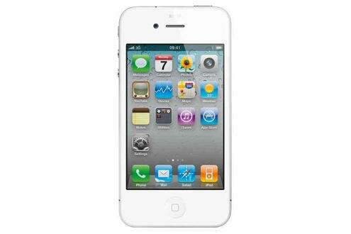 Apple Iphone 4S 8Go Blanc