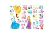 DECOFUN 26 stickers princesse avec prénom disney