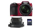 Nikon COOLPIX L840 ROUGE + ETUI + SD 4 Go
