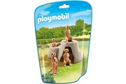 PLAYMOBIL Playmobil 6655 - city life : suricates avec rocher