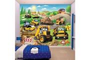 Walltastic Papier peint enfant jcb construction par walltastic 305x244 cm
