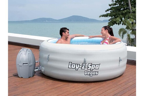 Bestway Spa Gonflable Lay Z Spa Vegas 4 6 Places