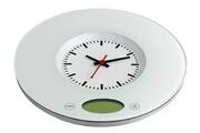 Tfa Balance de cuisine avec horloge à quartz