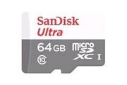 Sandisk SanDisk carte mémoire microSDHC Ultra 64 Go (jusqu'à 48 MB/s, Classe 10)