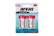 Arcas Pack de 2 piles Alcaline Mono D Arcas