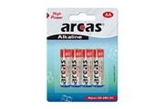 Arcas Pack de 4 piles Alcaline Mignon AA Arcas