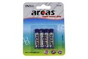 Arcas Pack de 4 piles ARCAS R03 Micro AAA