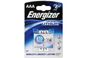 Energizer batterie lithium micro AAA Energizer L92 - 2pcs blister - FR 03 E 2-BL Energizer Lithium L92/AAA