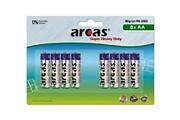 Arcas Pack de 8 piles R06 Mignon AA Arcas