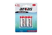 Arcas Pack de 2 piles Alcaline Baby C Arcas