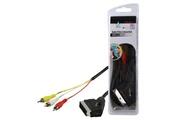 Hq cable SCART audio / video de base 1.50m