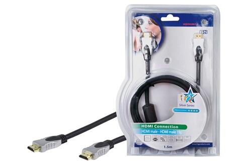 Hq Cable HDMI® de grande qualite et haut debit 1.50 m
