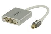 Profigold Adaptateur Mini DisplayPort Mini DisplayPort male - femelle 0,20 m blanc DVI - D