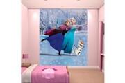 Walltastic Papier peint patinage la reine des neiges disney walltastic 203x244 cm