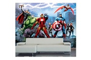 Bebegavroche Papier peint equipe avengers marvel 360x255 cm