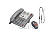 Amplicomms Téléphone filaire sénior powerTel 97 alarm amplicomms
