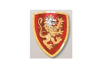 Bouclier mousse Lion doré rouge