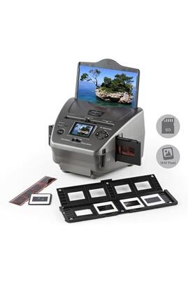 One Concept 979GY Combo Scanner de photos diapo 14MP SD USB