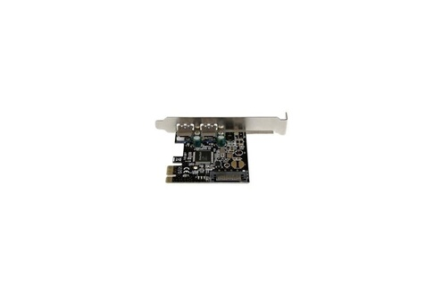 STARTECH StarTech.com Carte contrôleur PCI Express a 2 ports USB 3.0 - Adaptateur PCIe 2x USB-A (F) avec alimentation SATA