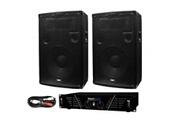 Ibiza Sound Pack sono special PC AMPLI 2x240W + 2 HP 2 x 600 W