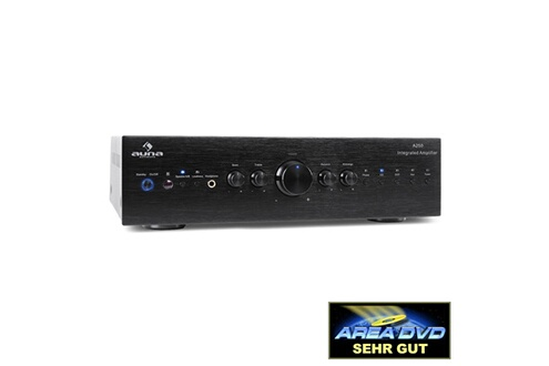 Auna AV2-CD708 Ampli HiFi stereo -noir