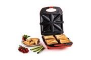 KLARSTEIN Trinity Sandwich Maker 3-en-1 XXL 1300 W -rouge