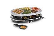 KLARSTEIN All-U-Can-Grill Raclette 4 en 1 Pancake, crêpe, plaque chauffante 8 personnes