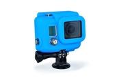 Xsories COVER HD3 Housse de protection en Silicone pour boitier de plongée GoPro Hero 3 - Bleu