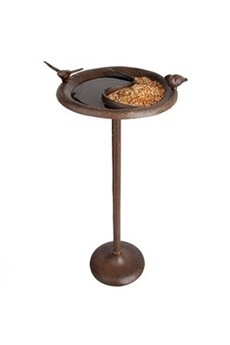 Mangeoire - Mangeoire/Abreuvoir/Bain Oiseau Perché