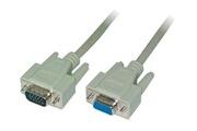 Logilink LogiLink CV0023 Câble VGA en ferrite core Mâle/Femelle 10 m Gris