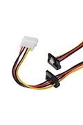 Nano Cable Nano Cable-Câble de 10,19.0601 alimentation SATA coudé avec fixations
