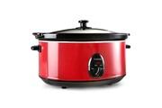 KLARSTEIN Bristol 65 Mijoteuse cocotte 6,5 Litres cuisson lente 300W - rouge