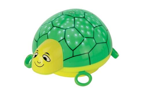 """Ansmann Veilleuse """"tortue"""" ANSMANN , vert/jaune, veilleuse en forme de tortue"""