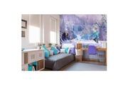 Komar Papier peint foret glacée la reine des neiges disney 368x254 cm