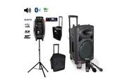 Ibiza Sound Pack IBIZA Sono portable Port8vhf-BT + PIED