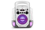 Auna Kara Liquida Chaîne Karaoké design CD USB MP3 Fontaine LED 2 micros