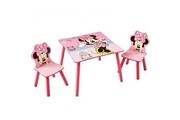 MINNIE Ensemble Table et Chaises Minnie Mouse