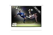 Frontstage Ecran de projection motorisé Home Cinema Projecteur HDTV 240x180cm 4:3