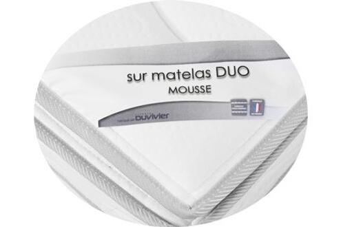 Duvivier Ensemble gala luxe mousse- - 2 x 100 x 200 cm