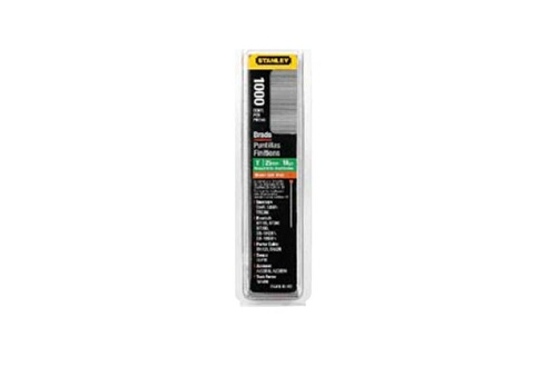 STANLEY Lot de 1000 clous type J L=12mm STANLEY 1-SWK-BN050T
