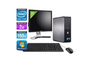 Dell Optiplex 380 -intel e3300 2,50ghz + ecran 17'