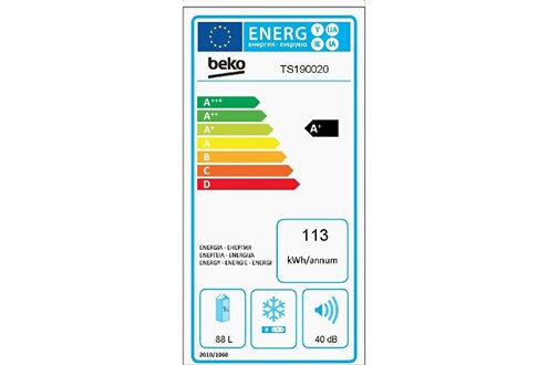 Beko Refrigerateurs table top TS 190020