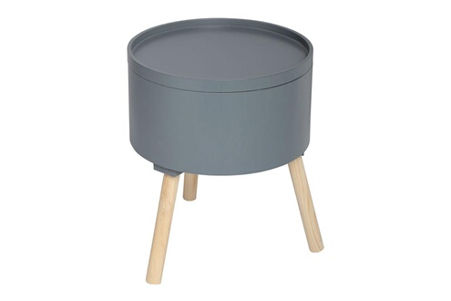 Atmosphera Table Basse Oshi Gris Fonce