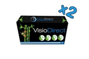 Visiodirect 2 Toner cartouches d'encre Laser type TN1050 Noir 1000 pages pour imprimante BROTHER HL1110 HL1112A HL1110R HL1112R HL1110E HL1112E HL1112