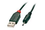 Lindy Câble adaptateur USB vers prise DC 0,7 / 2,5mm, 1,5m
