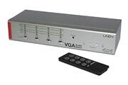 Lindy Commutateur matrix AV 4x4 - VGA et audio stéréo, avec télécommande
